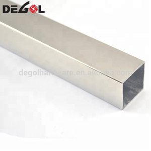 Top quality seamless square stainless steel tube
