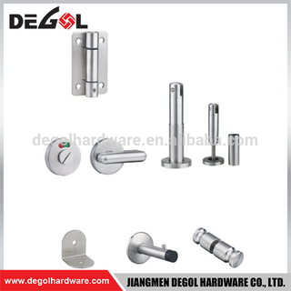 Hotsale shower cubicle hardware zinc alloy cubicle partition fitting