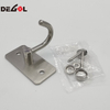 Stainless Steel Door Mounted Decorative Coat Hooks