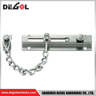 Made in China Stainless Steel Door Safety Chain