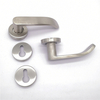 Stainless Steel 304 Brass Bushing Lever Door Handle Lock