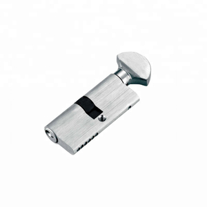 Zinc alloy best thumb turn knob safe lock cylinder with keys