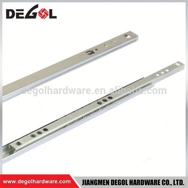 Manufacturing Kitchen Cabinet Sliding Rail Drawer Slide Parts Channel