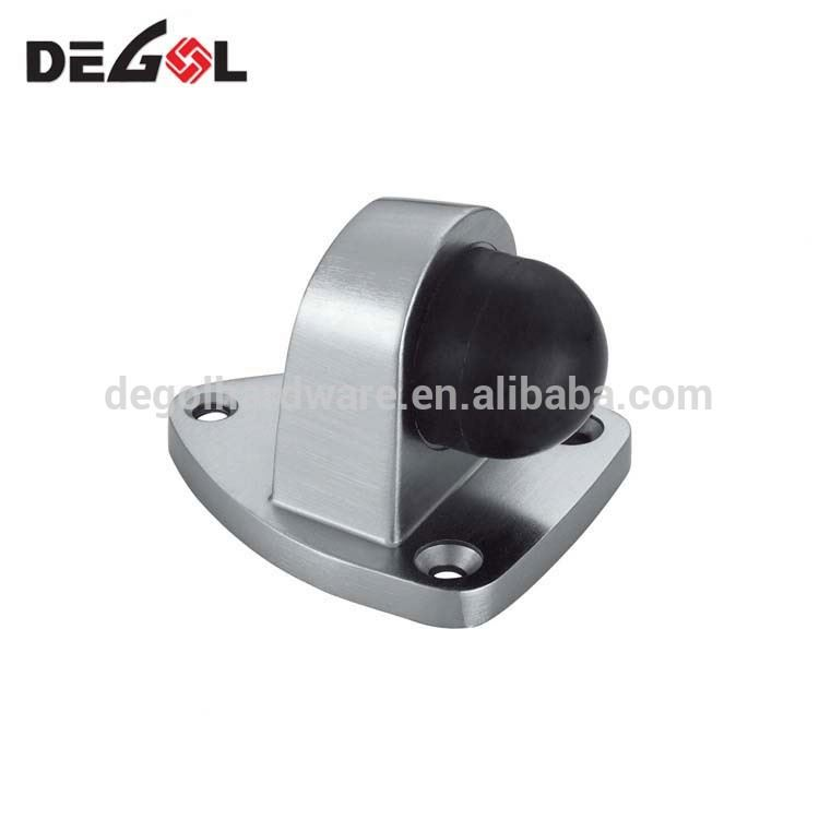 China Degol hardware factory price High quality stainless steel 304 floor mounted door stopper