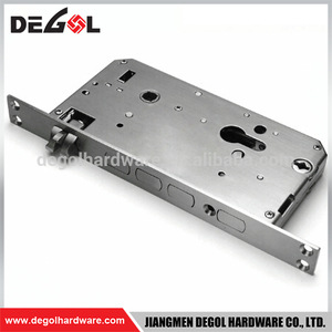 China wholesale magnetic Italian European mortise door lock body for wooden doors