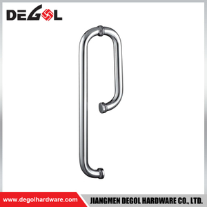 Stainless Steel S Double Sided Glass Industrial Door Pull Handle