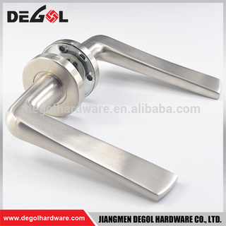 Best quality SUS316 door lever handles for marine solid die-casting stainless steel handle