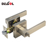 Stainless Steel high-end lever tubular latch passage door handle lock