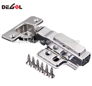 Stainless steel heavy duty hydraulic soft closing rustic furniture hinge