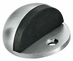 Contemporary Style Solid Stainless Steel Baby Safety Toilet Floor Door Stopper