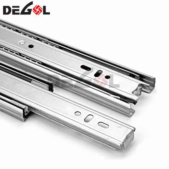 Wholesale Metal Box Drawer Slides with Plastic Wheel And Dowels