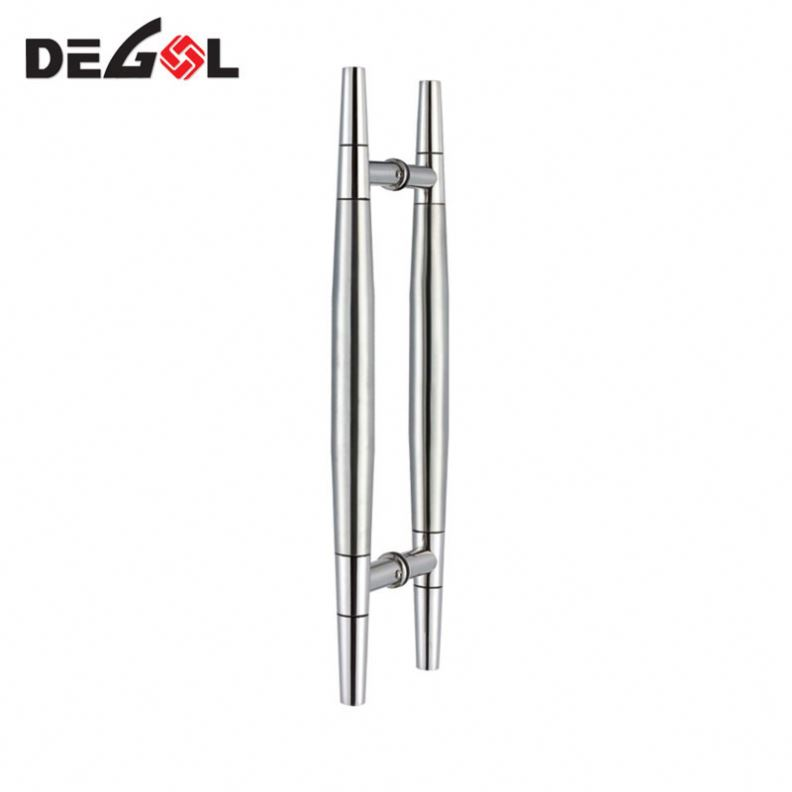 Top Quality Modern Design H Style Stainless Steel Tubular Glass Door Pull Handle