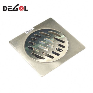High Quality Shower Square Bathroom Floor Grate Drainage Drain Cover