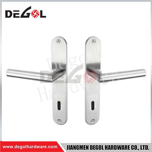 Hot Sale Stainless Steel Round Lever Door Handles
