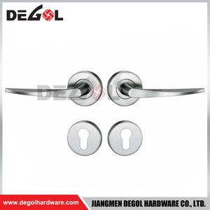 LH1031 Double sided Stainless steel square design door handles