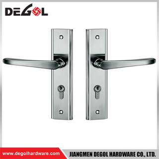 BP1001 Stainless steel cover plate sus304 fancy type long plate door handle