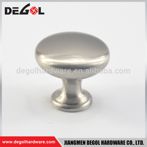 Top quality fancy cheap zinc alloy single hole furniture cabinet drawer knobs