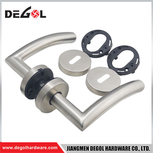 Manufacturing double sided stainless steel tube high quality hand door handle
