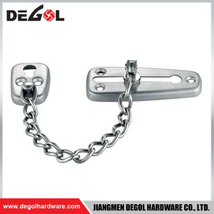 Top quality zinc alloy new design security chain door closer