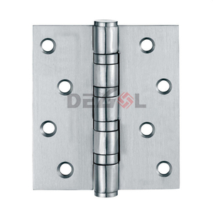 Full material satin stainless steel 4BB door hinge