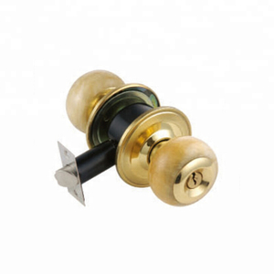 Hot Sale China Roswood Round Knob Sliding Wooden Door Lock