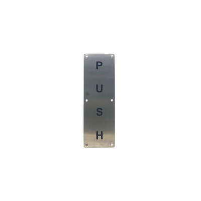Multifunctional Push Pull Door Handle With Plate For Wholesales
