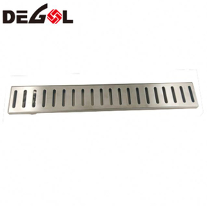 FD1009 Door Handle With Foot Metal Stainless Steel Floor Drain Grate