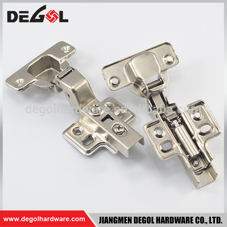 Iron Fix on Insert Soft Closing Hydraulic Concealed Cabinet Hinges