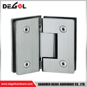 Tempered glass door hinge for glass shower cabin doors