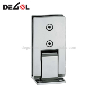 China stainless steel wall mounted shower door frameless glass hinges