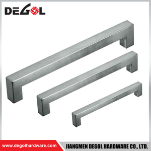 Straight bar cabinet handle pull handle