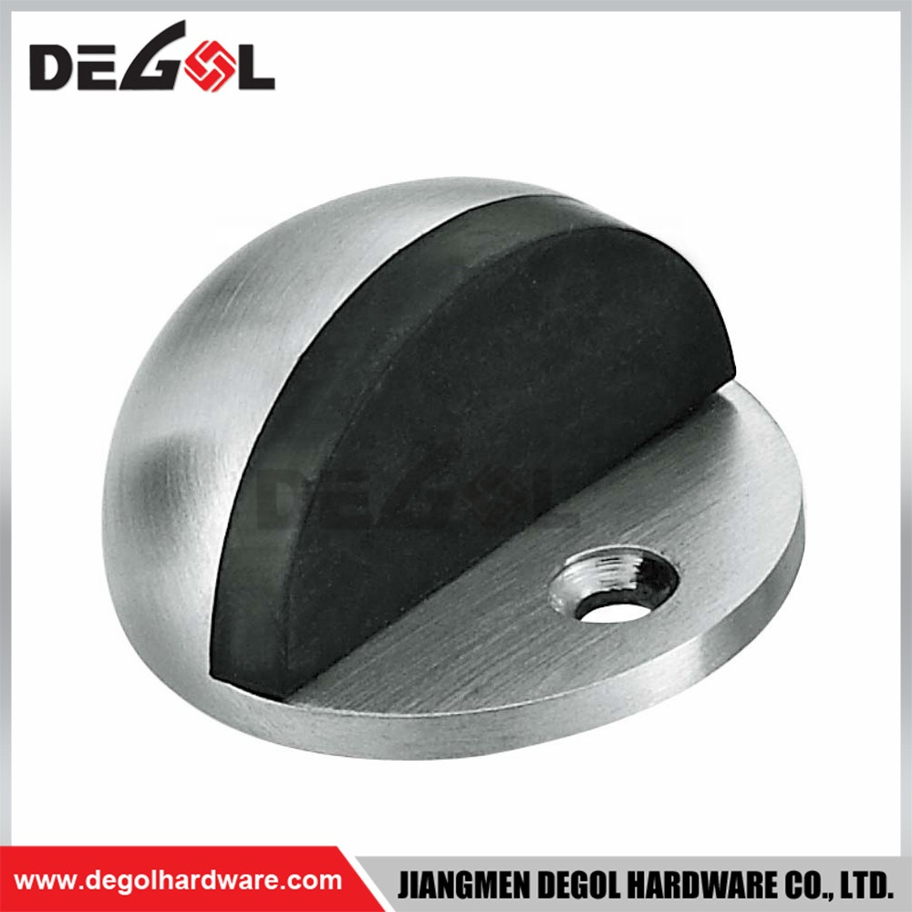 stainless steel decorative sliding door stop