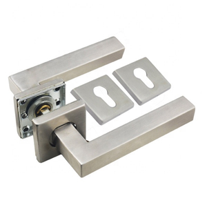 Square Stainless Steel 304 Door Lever Handle