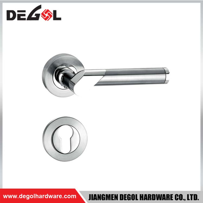 Zinc Alloy Tubular Lever Door Handle
