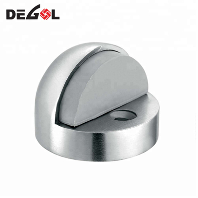 Factory Hot Selling Home Safety Satin Surface 304 Stainless Steel Strength Magnetic Door Stopper
