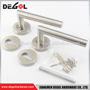 China supplier heavy duty solid lever stainless steel kitchen room door handle