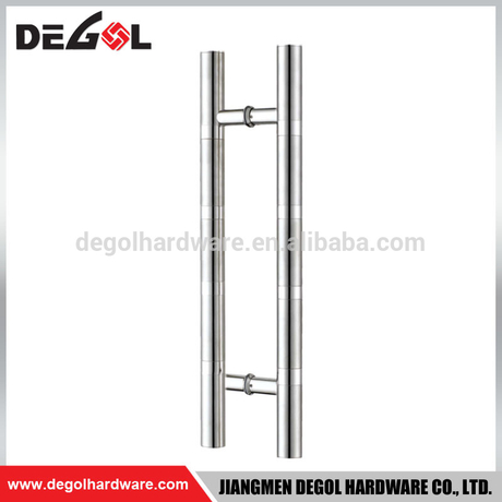 Top quality stainless steel H shape glass gate industrial door pull handle