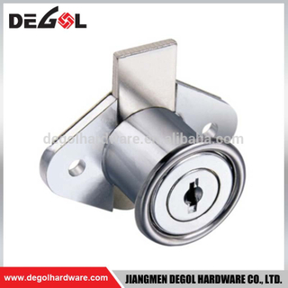Durable and stable central lock for drawer