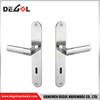 Factory Supplying Lever On Plate Antique Brass Mortise Door Handle Lockset
