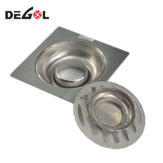 Metal Stainless Steel Floor Drain for Bathroom Kitchen Shower